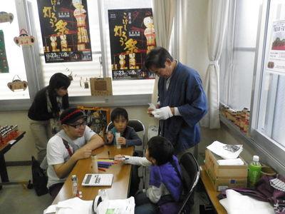 「MY FIRST KOKESHI!~はじめての伝統こけし~    in 高円寺フェス2011」 2011・11・12_b0209890_1971188.jpg