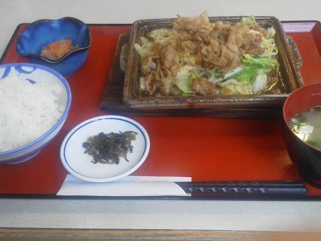 しょうが焼き定食|Aコープレストラン(諫早市) : たっちゃん☆ ...