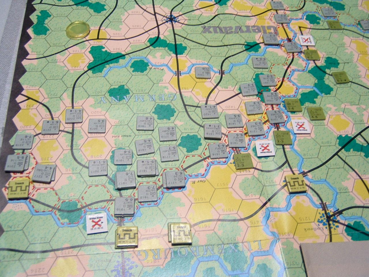 発掘2008.2.29対戦写真(SPI/TAC誌付録)Battle For The Ardennes「クレルボー篇」 その1_b0173672_1823592.jpg