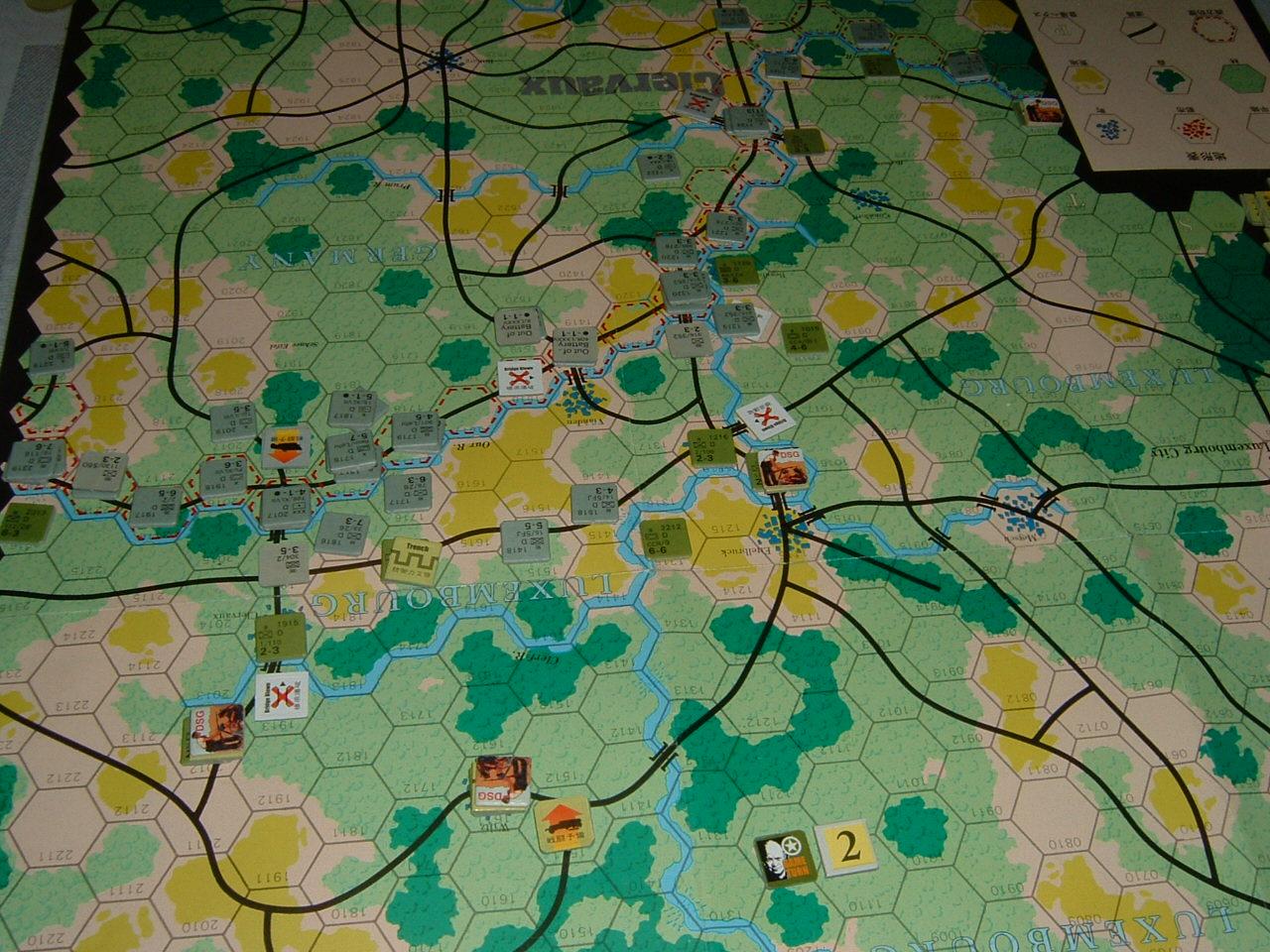発掘2008.2.29対戦写真(SPI/TAC誌付録)Battle For The Ardennes「クレルボー篇」 その1_b0173672_1824134.jpg