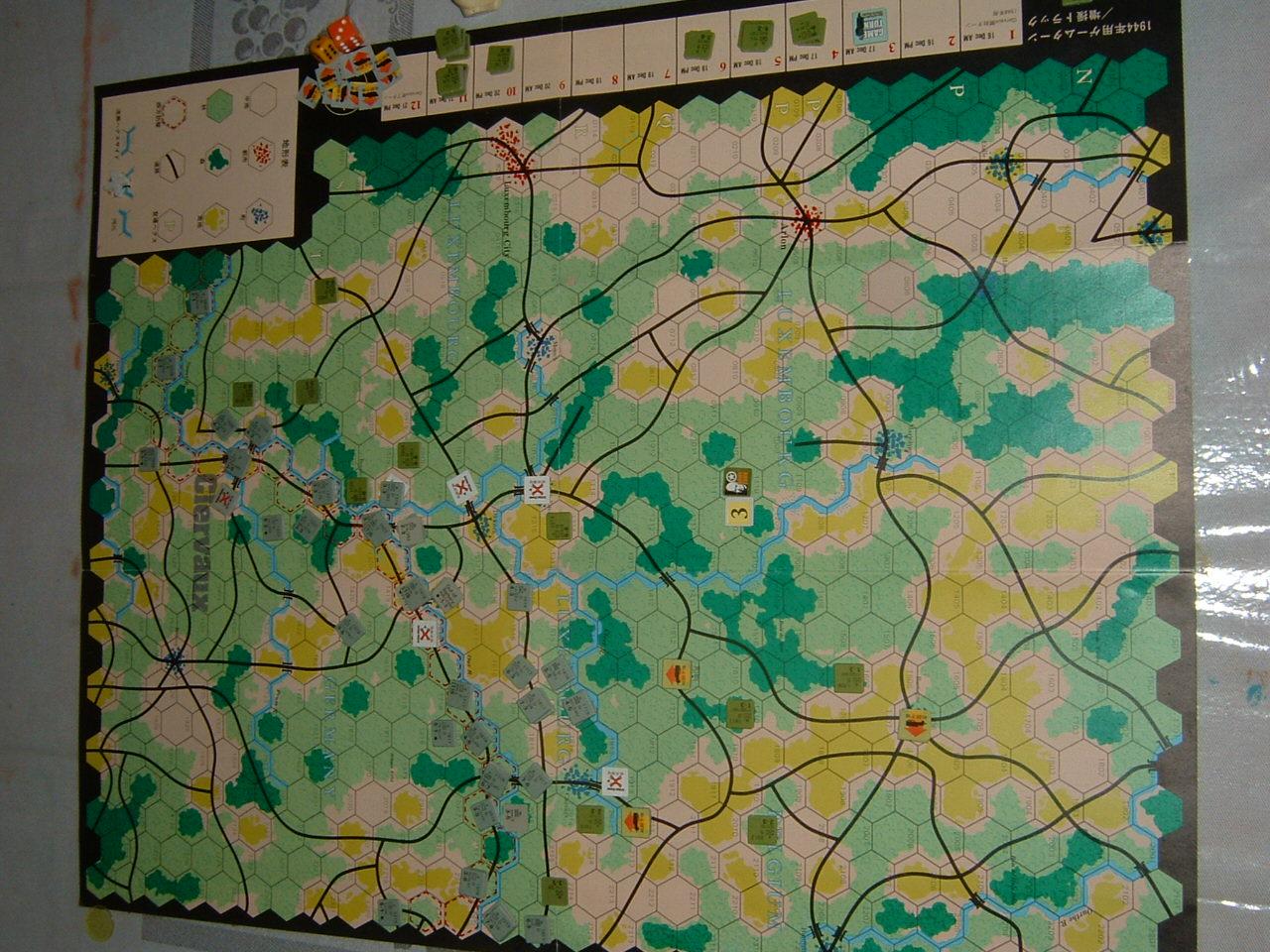 発掘2008.2.29対戦写真(SPI/TAC誌付録)Battle For The Ardennes「クレルボー篇」 その1_b0173672_18242664.jpg