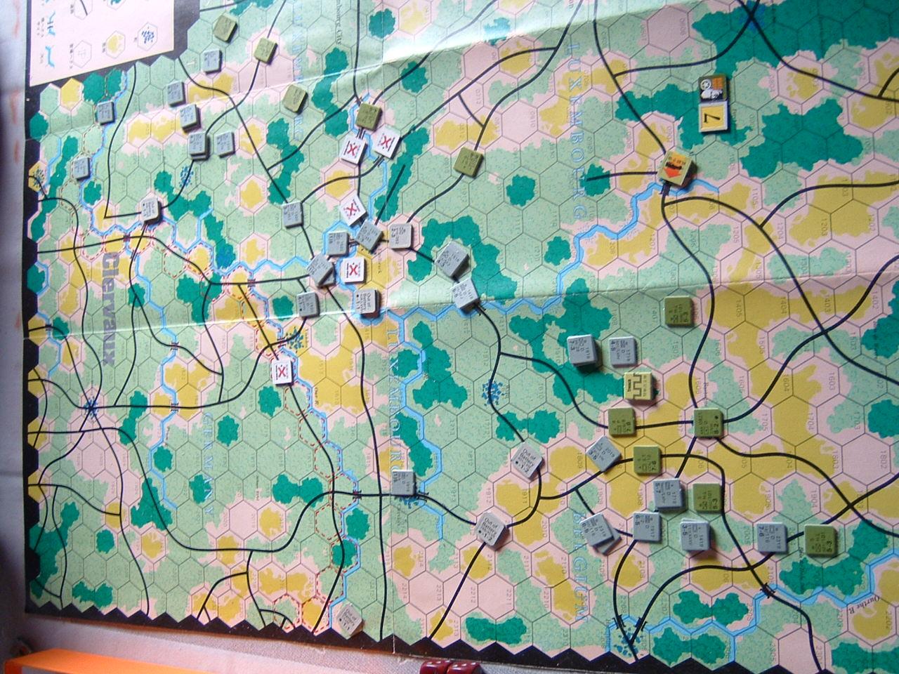 発掘2008.2.29対戦写真(SPI/TAC誌付録)Battle For The Ardennes「クレルボー篇」 その2_b0173672_18285439.jpg