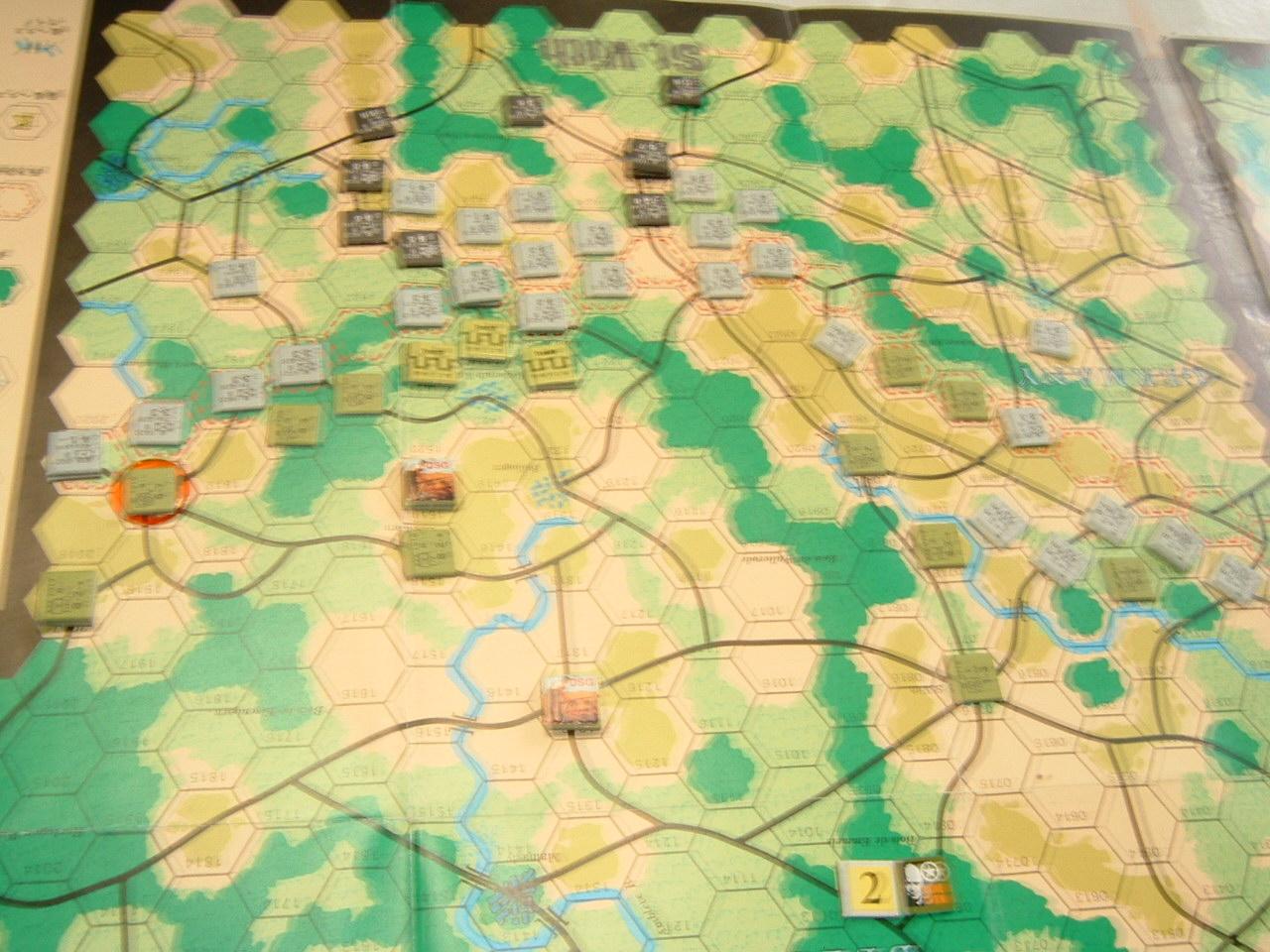 発掘2008.2.29対戦写真(SPI/TAC誌付録)Battle For The Ardennes「サン・ヴィト+クレルボー篇」_b0173672_18305031.jpg