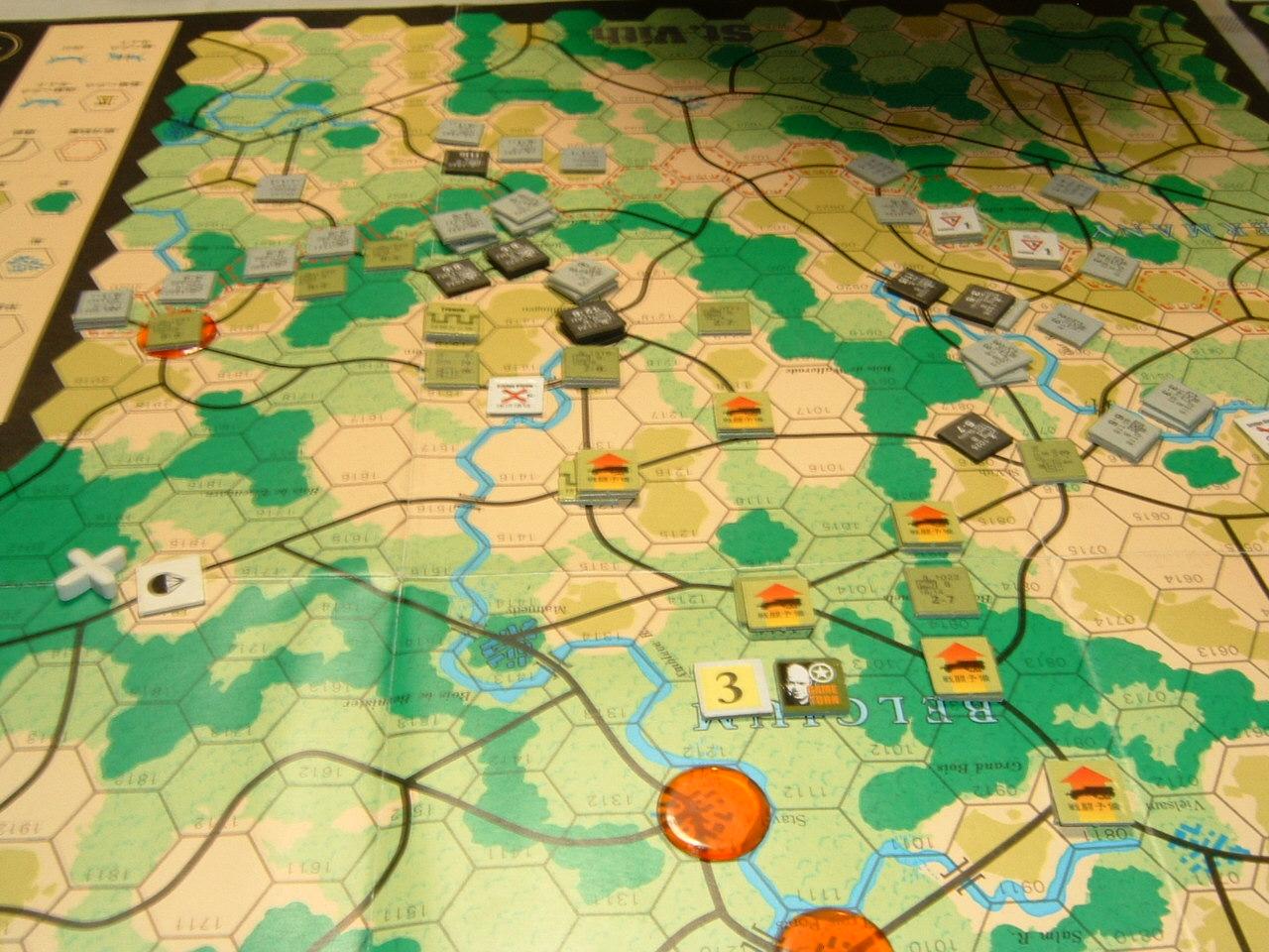 発掘2008.2.29対戦写真(SPI/TAC誌付録)Battle For The Ardennes「サン・ヴィト+クレルボー篇」_b0173672_18313598.jpg