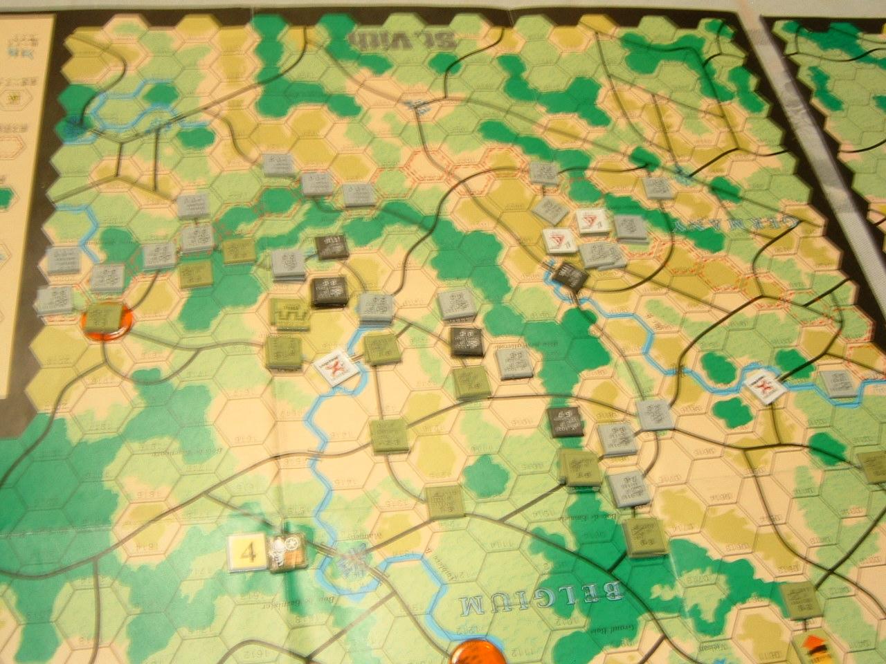 発掘2008.2.29対戦写真(SPI/TAC誌付録)Battle For The Ardennes「サン・ヴィト+クレルボー篇」_b0173672_18315010.jpg
