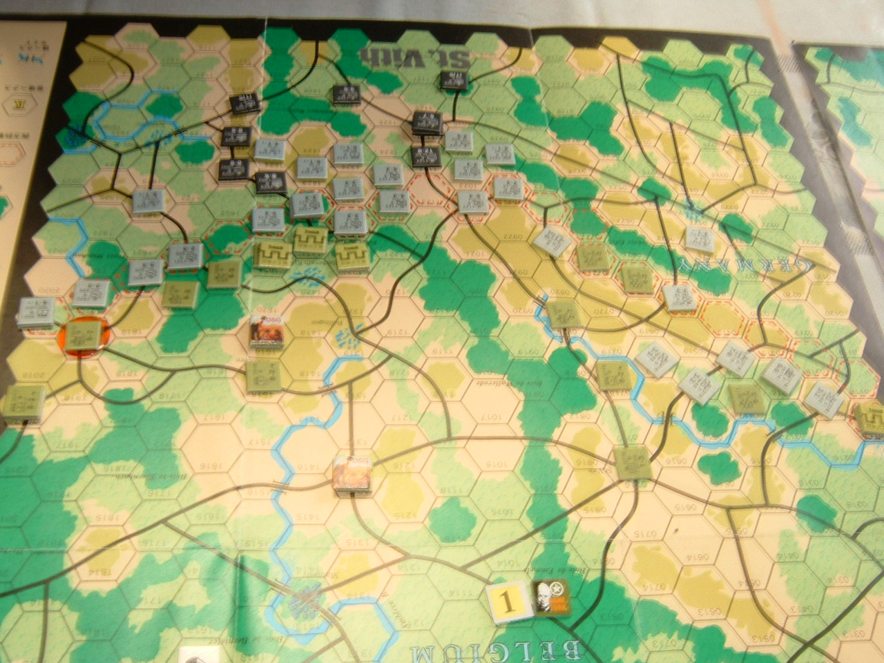 発掘2008.2.29対戦写真(SPI/TAC誌付録)Battle For The Ardennes「サン・ヴィト+クレルボー篇」_b0173672_1831590.jpg