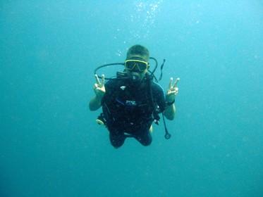 暖かい海でのびのびダイビング_f0144385_2249833.jpg
