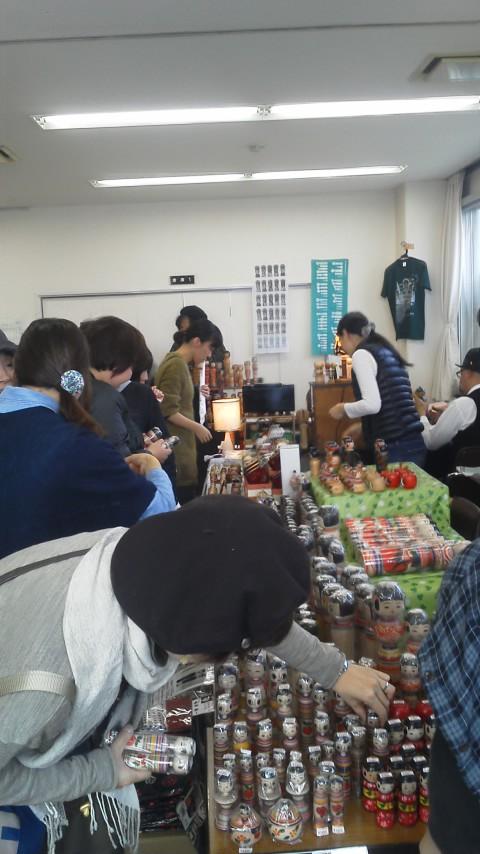 「MY FIRST KOKESHI!~はじめての伝統こけし~    in 高円寺フェス2011」 2011・11・13 前編 _b0209890_1971573.jpg