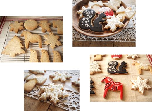 オーナメントクッキー、焼けた_d0174704_19265429.jpg