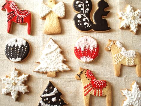 オーナメントクッキー、焼けた_d0174704_1943481.jpg