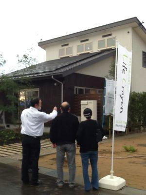 小松サロンの完成お披露目会_c0124828_91554.jpg