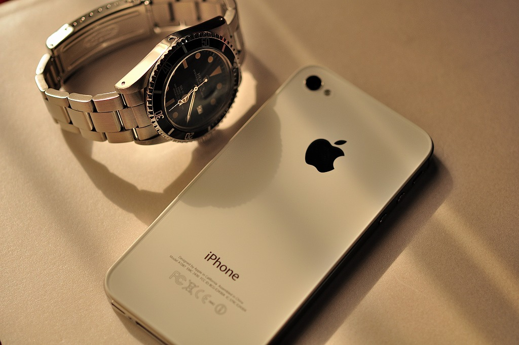 ROLEX 1665 & Apple iPhone 4S_f0208934_2336929.jpg