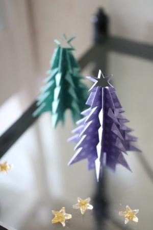 ハート 折り紙 折り紙で作るクリスマスツリー : hinanana.exblog.jp
