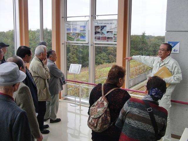 議会で青葉台地区の皆さんと所沢市東部クリーンセンターを視察_f0141310_782734.jpg