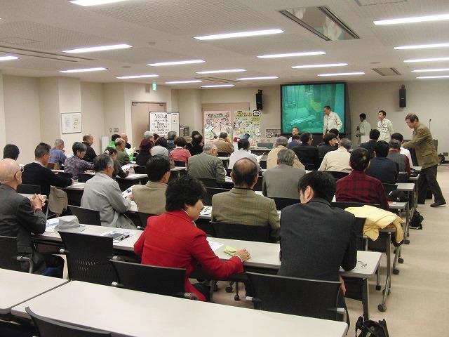 議会で青葉台地区の皆さんと所沢市東部クリーンセンターを視察_f0141310_785593.jpg