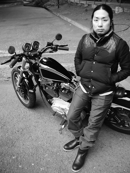 佐野 寛人 & Harley-Davidson XL1200S(2011 1030)_f0203027_1965093.jpg