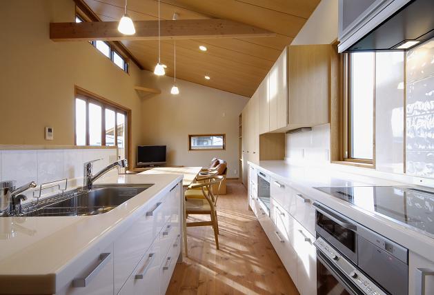 設計事務所の家づくり 『オープンキッチン』_b0146238_21245859.jpg