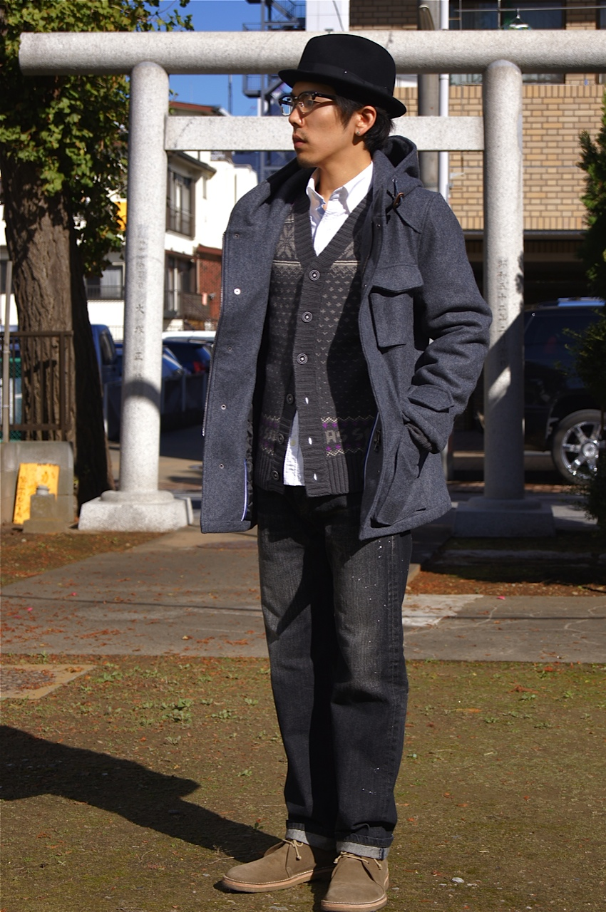 """SILAS\"" New Jacket , New EyeWear & Styling_f0020773_20463277.jpg"