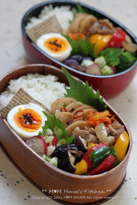 ピリ辛焼き肉弁当♪_c0139375_9505947.jpg
