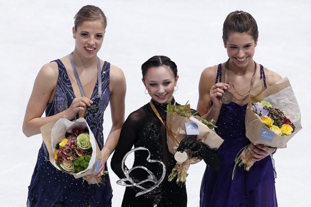 トゥクタミシェワ選手、史上初のシニアデビューでのGPS2勝! -2011フランス杯_b0038294_7212842.jpg