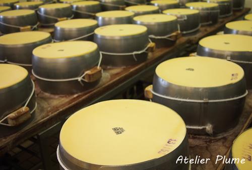 イタリアの旅  パルミジャーノ レッジャーノチーズ工場_e0154202_17262255.jpg
