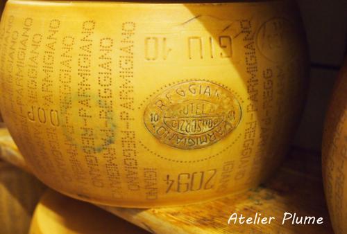 イタリアの旅  パルミジャーノ レッジャーノチーズ工場_e0154202_17446100.jpg
