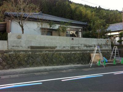 日南市H様邸和風塀renovation工事_b0236217_21344090.jpg