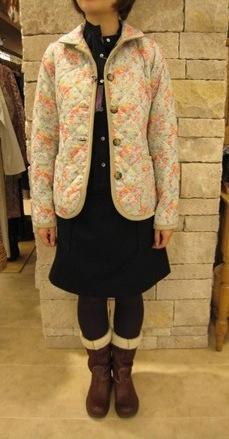 ルミノア リバティリバーシブルキルティングジャケットです。_c0227633_22101627.jpg