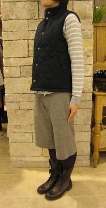 ルミノア リバティリバーシブルキルティングジャケットです。_c0227633_2212399.jpg