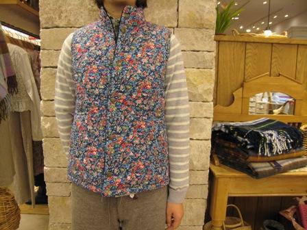 ルミノア リバティリバーシブルキルティングジャケットです。_c0227633_22141261.jpg