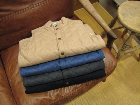 ルミノア リバティリバーシブルキルティングジャケットです。_c0227633_22174213.jpg