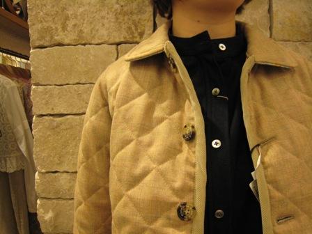 ルミノア リバティリバーシブルキルティングジャケットです。_c0227633_227362.jpg