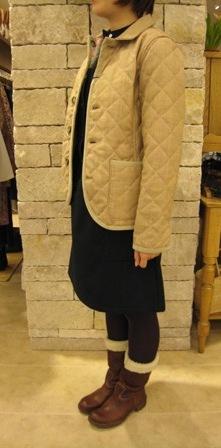 ルミノア リバティリバーシブルキルティングジャケットです。_c0227633_227528.jpg