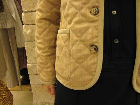 ルミノア リバティリバーシブルキルティングジャケットです。_c0227633_228041.jpg
