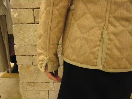ルミノア リバティリバーシブルキルティングジャケットです。_c0227633_2282541.jpg