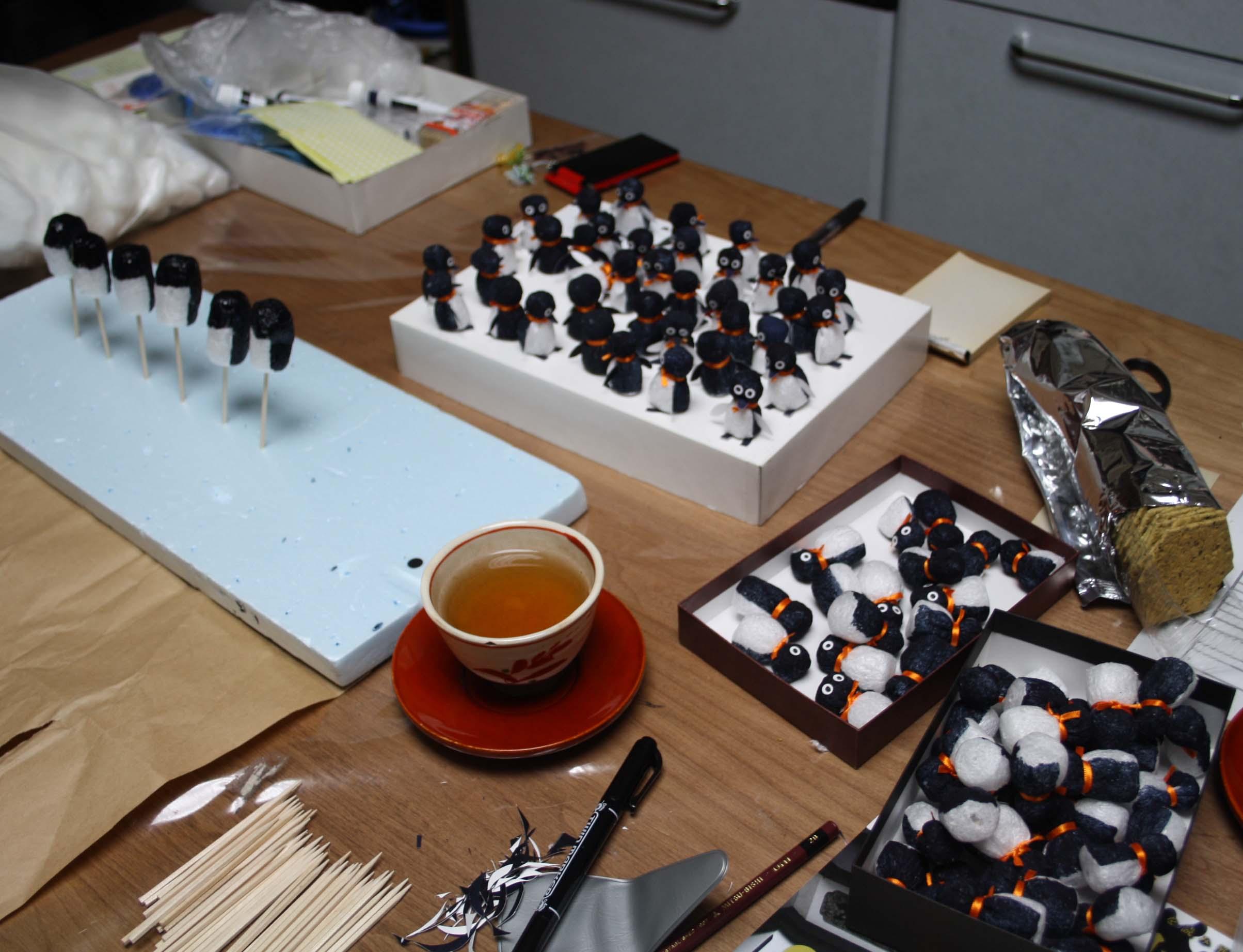 『エコ ペンギン ミンジーを作る会』エコ ペンギン ミンジー を作ろう~_d0178448_5249100.jpg