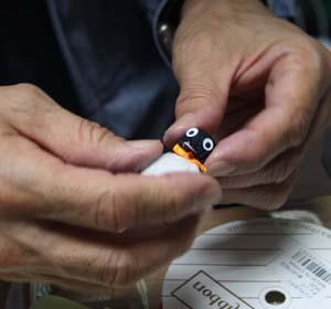 『エコ ペンギン ミンジーを作る会』エコ ペンギン ミンジー を作ろう~_d0178448_5554875.jpg