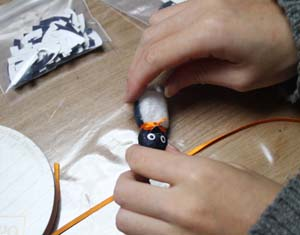 『エコ ペンギン ミンジーを作る会』エコ ペンギン ミンジー を作ろう~_d0178448_614930.jpg