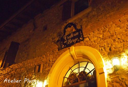イタリア旅行  小さな村の山の上のレストラン♪_e0154202_19244975.jpg