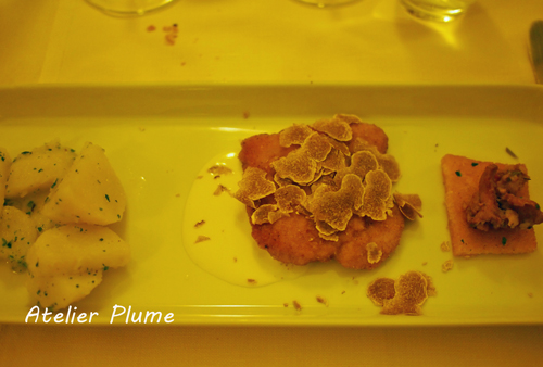 イタリア旅行  小さな村の山の上のレストラン♪_e0154202_19312717.jpg