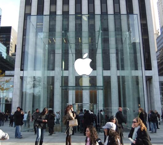アップルストア、ニューヨーク5番街店に新ガラスキューブ登場_b0007805_23161717.jpg