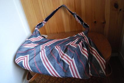 スカートからbagにリメイク!_d0127925_13183995.jpg