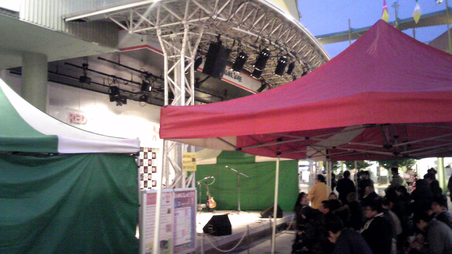 RED RIBBON LIVE NAGOYA 始まりました!_e0142585_1753881.jpg