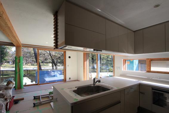 J-パッシブハウスさいたま:完成間近の室内_e0054299_10533313.jpg