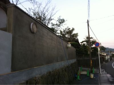 日南市H様邸和風塀ranovation工事_b0236217_1951574.jpg