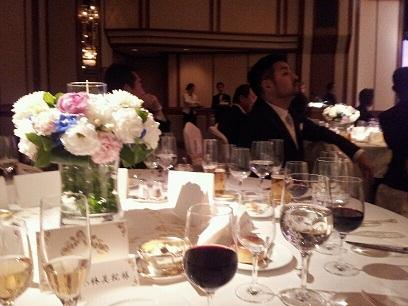 楽しい披露宴、楽しいテーブル!_d0148223_6585342.jpg