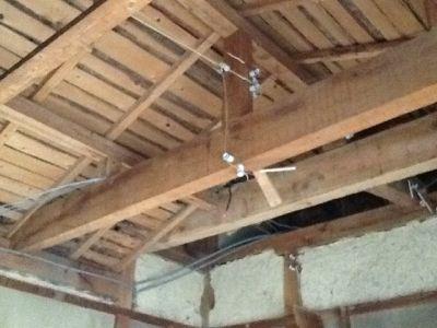 倉庫兼下足室の天井改修_c0124828_55385.jpg