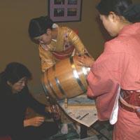 京都要庵歳時記「2011年11月17日 ボジョレー・ヌーヴォ解禁」(2)_d0033734_19225831.jpg