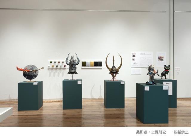 立像「福招きクロッチ」、アートギャラリーに展示される_f0193056_14592042.jpg