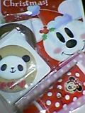 ディズニーシーのクリスマスのお土産を頂きました_b0096957_21171345.jpg